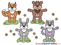 Animals Clipart free Illustrations