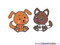 Animals Dog Cat Pics free Illustration
