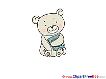 Book Bear free Cliparts for download