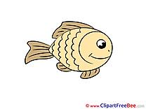 Clipart Fish free Illustrations