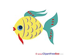 Download Fish printable Illustrations