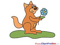 Grass Squirrel free Illustration download
