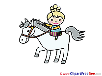 Horse printable Images for download