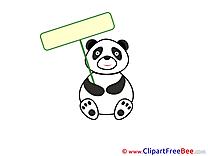Panda free Illustration download
