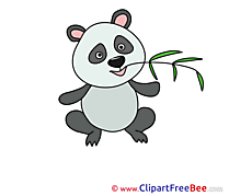 Panda free printable Cliparts and Images