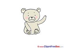 Teddy Bear Clipart free Illustrations