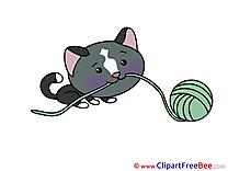 Threads Cat Pics printable Cliparts